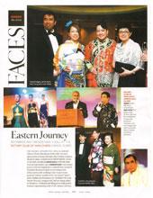 Fashion Show in Grand Hyatt Hotel for Rotar Club annual dinner party